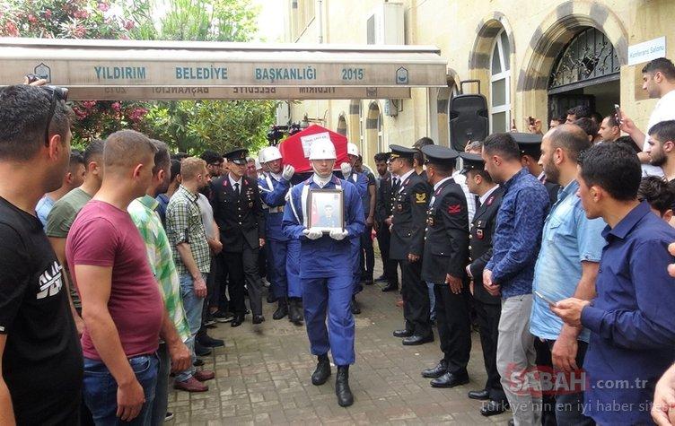 Kazada hayatını kaybeden jandarmanın cenazesinde gözyaşları sel oldu
