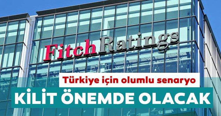 Fitch Ratings'ten Türkiye için olumlu senaryo