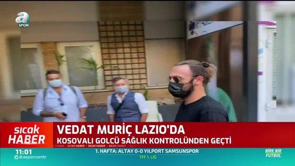 Vedat Muriqi Lazio sağlık kontrolünden geçti!