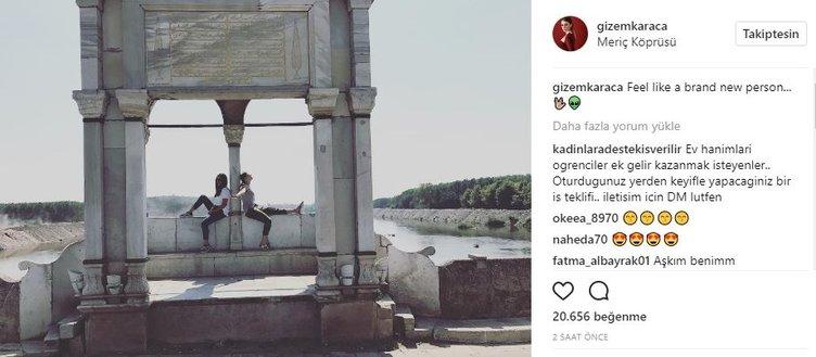Ünlü isimlerin Instagram paylaşımları (07.08.2017)