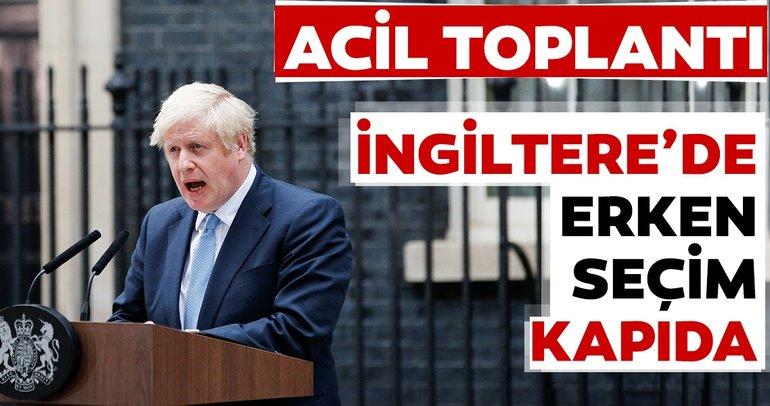 Son dakika haberi: İngiltere'de bakanlar kurulu acil toplandı! Erken seçim kapıda