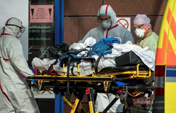 Corona virüs son dakika haberleri | Corona virüsü vaka ve ölü sayısı o ülkelerde artmaya devam ediyor! Salgında vahim tablo...