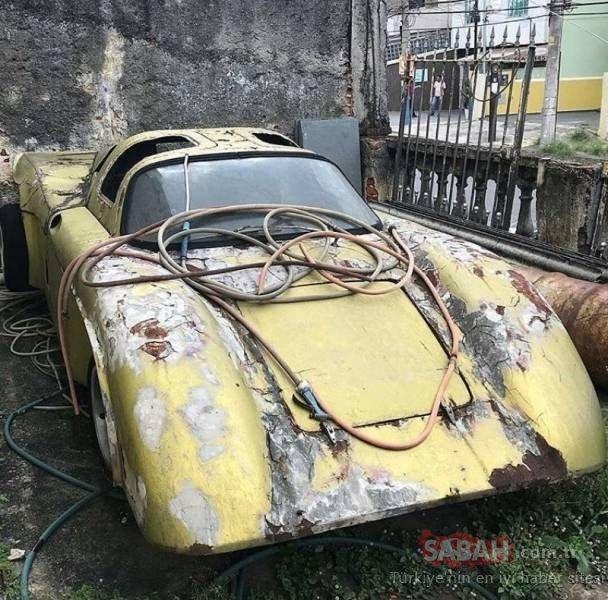 Kaderine terk edilmiş efsane otomobiller