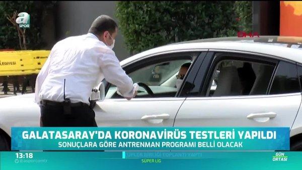 Galatasaray'da corona virüsü testleri negatif!