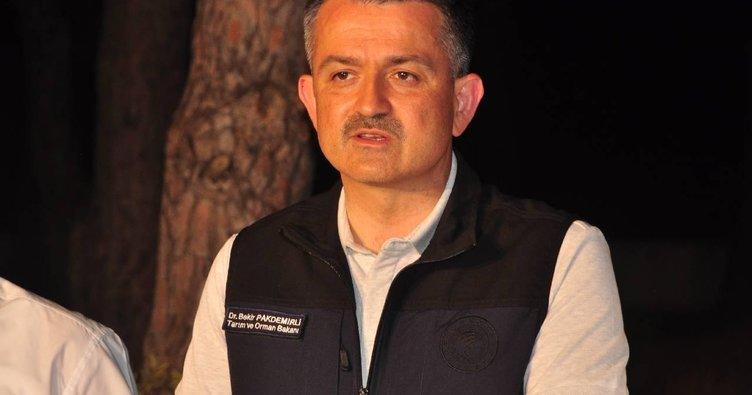 Bakan Pakdemirli müjdeli haberi duyurdu: Tüm orman yangınları kontrol altına alındı