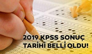 KPSS sonuçları ne zaman açıklanacak? 2019 KPSS sonuç tarihi belli oldu!