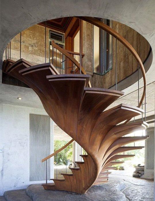 Bu merdivenlerin tasarımı hayran bırakıyor
