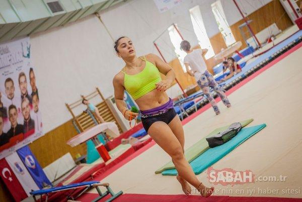 Jimnastiğin 'Yılmaz' kızı Tutya