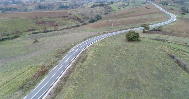 Körfez'de 9 bin 500 metrelik yol yenilendi