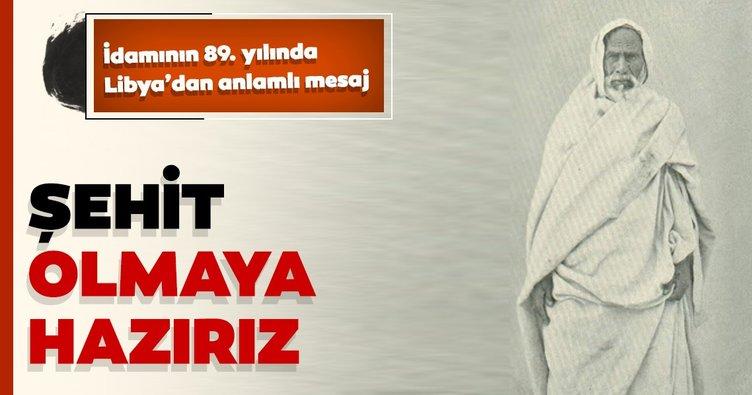 Libya Savunma Bakanı'ndan Ömer Muhtar'ın idamının 89. yılında Libya için şehit olmaya hazırız mesajı