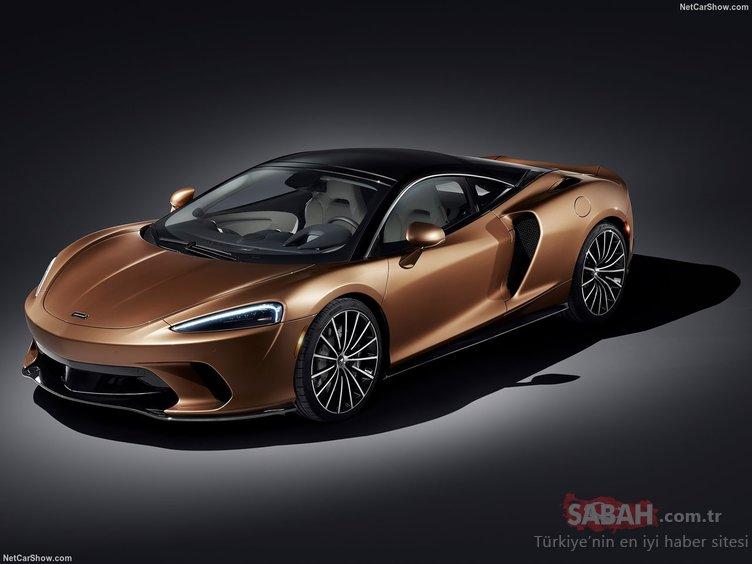 2020 McLaren GT ortaya çıktı! İşte karşınızda 612 beygir gücündeki canavar