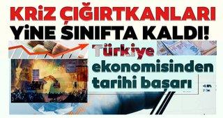 Türkiye ekonomisinden tarihi başarı! Kriz çığırtkanları yine sınıfta kaldı