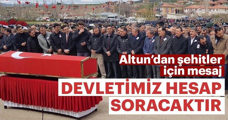Fahrettin Altun: Devletimiz PKK'dan hamilerinden ve destekçilerinden hesap soracaktır