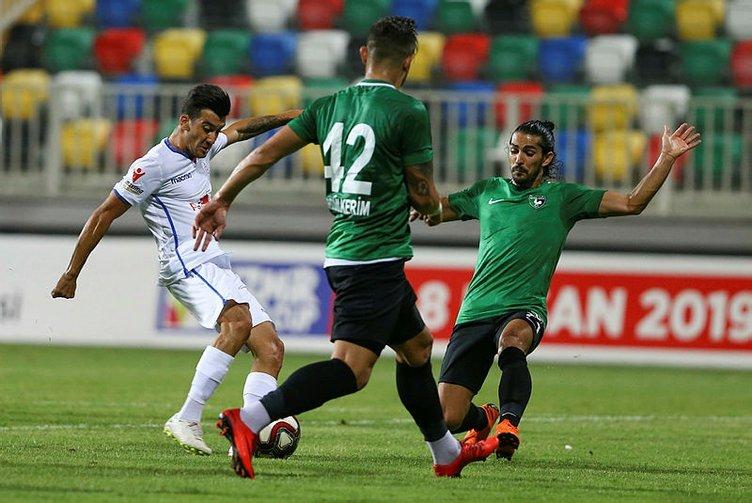 Altınordu Başkanı'ndan abartılı gol sevincine ceza