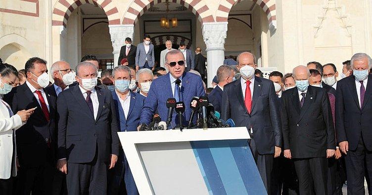 Son dakika: Başkan Erdoğan KKTC'den önemli mesajlar verdi! Maraş'ta hayat yeniden başlayacak