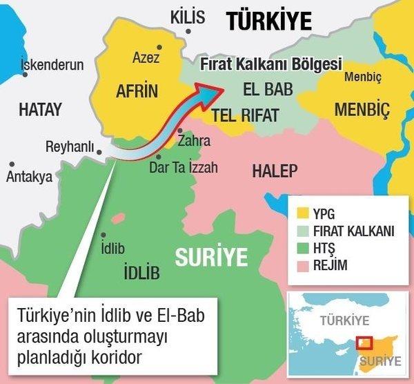 Son dakika: Bu da Türkiye koridoru
