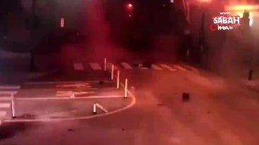 ABD'deki patlamaya ait yeni görüntüler ortaya çıktı | Video