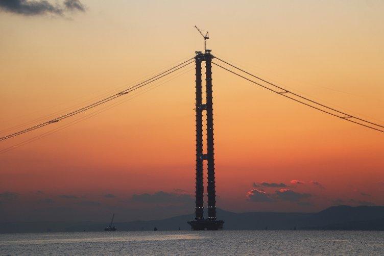 1915 Çanakkale Köprüsü'nde görsel şölen! Dünyanın en büyüğü olacak