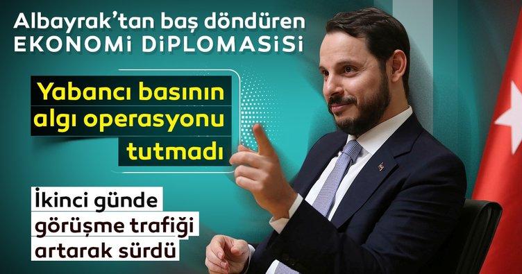 Berat Albayrak'tan baş döndüren ekonomi diplomasisi