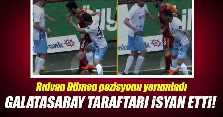 Galatasaray taraftarından Fırat Aydınus'a sert tepki!