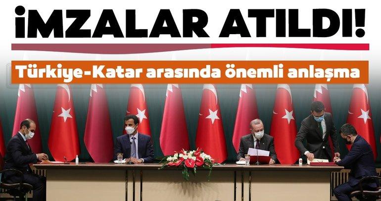 Son dakika | Türkiye ve Katar arasında önemli anlaşma! Ve imzalar atıldı...