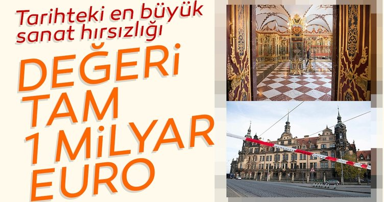 Tarihteki en büyük sanat hırsızlığı... Çalınan eserlerin değeri tam 1 milyar Euro