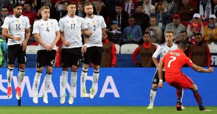 2017 Konfederasyon Kupası Almanya: 1 - Şili: 1