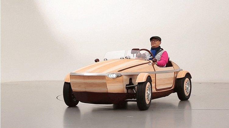 Ahşap otomobil Setsuna