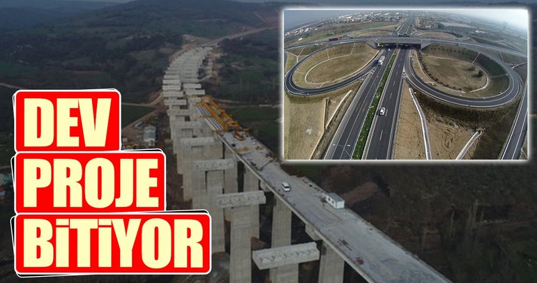 İstanbul-İzmir 3.5 saat olacak dev proje bitiyor