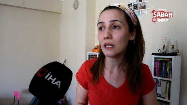 Patronu genç kadına dehşeti yaşattı: Kırılan parfüm camlarının üzerinde sürükledi | Video