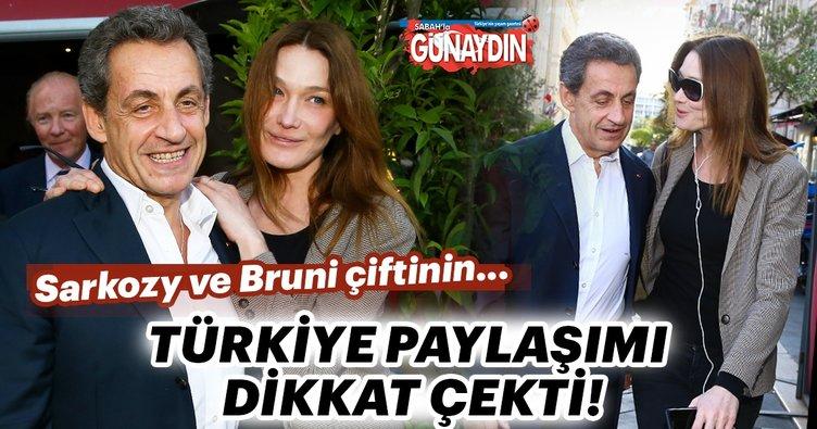 Nicholas Sarkozy-Carla Bruni çifti Türkiye'de tatil yaptı