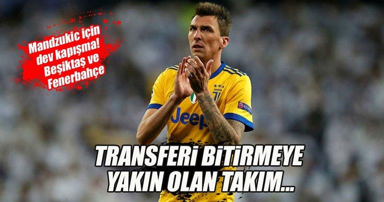 Mario Mandzukic için dev kapışma! Beşiktaş ve Fenerbahçe...