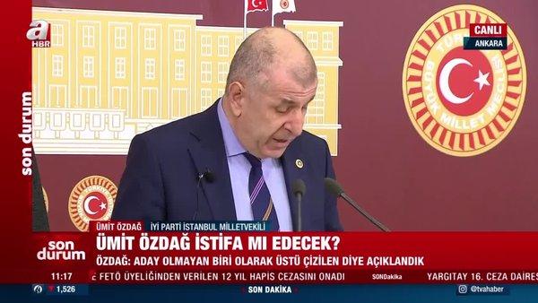 SON DAKİKA: İyi Parti'den istifa eden Ümit Özdağ'dan çok sert Meral Akşener açıklaması | Video