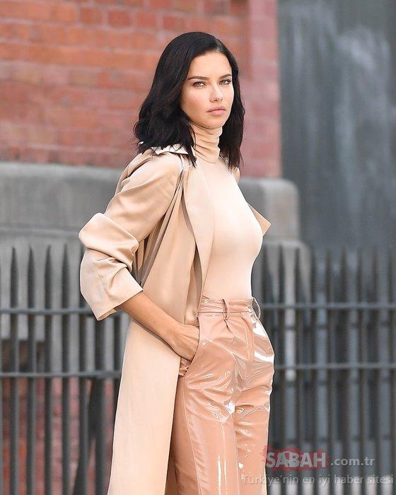Victoria's Secret meleklerinden Adriana Lima artık...