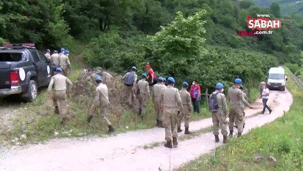 Giresun'da kayıp İkranur için devreye JÖH'ler girdi   Video