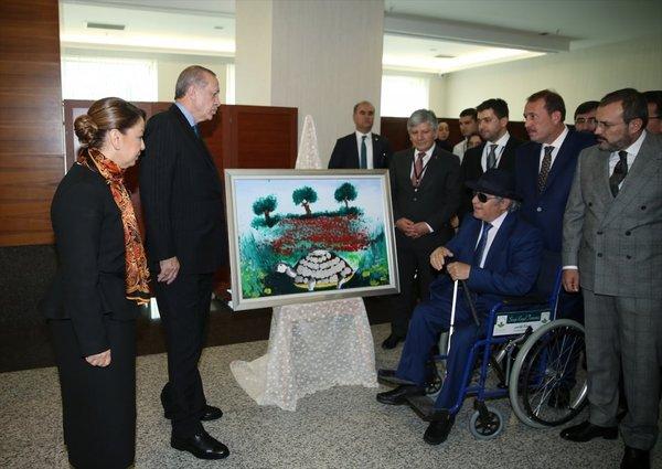 Cumhurbaşkanı Erdoğan 'Engelleri Aşanlar 2017' buluşmasına katıldı
