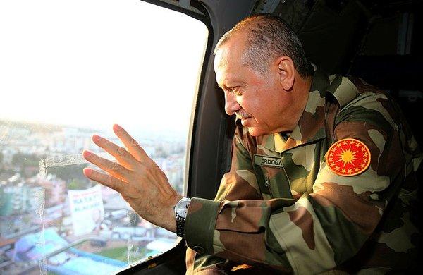 Cumhurbaşkanı Erdoğan sınır karakolunda