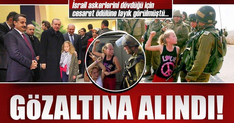 'Hanzala Cesaret Ödülü' sahibi Filistinli kız gözaltına alındı