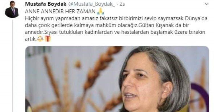 FETÖ sanığı Boydak'tan 'Kışanak'ı serbest bırakın' tweetiyle ilgili U dönüşü