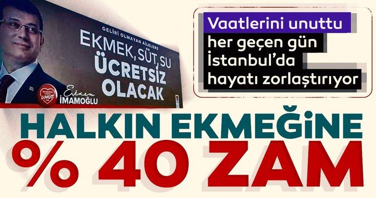 CHP'nin intikam siyaseti halkı sömürmeye devam ediyor! Ekmeğe zam, yancıya 45 bin TL maaş!