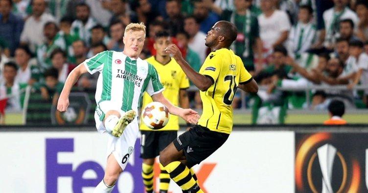 Konyaspor'da Jonsson imzayı attı