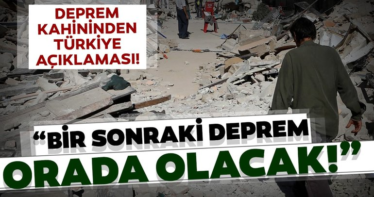 Son dakika haberi: Ünlü deprem kahini ve bilim insanından korkutan Türkiye depremi açıklaması! Bir sonraki orada...