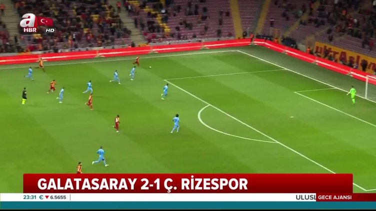 Galatasaray 2-1 Rizespor Maç Özeti... Türkiye Kupası son 16 turu rövanş maçı