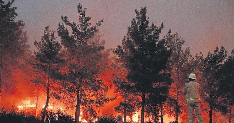 Ege'de yangın kabusu