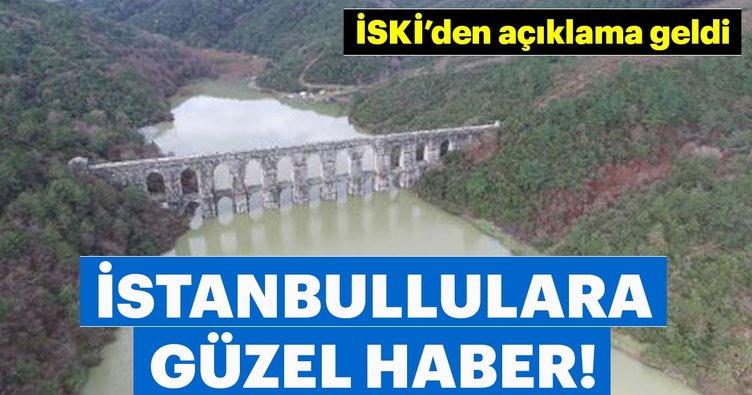 İstanbul'da barajlarda doluluk oranı yüzde 90'ı geçti!