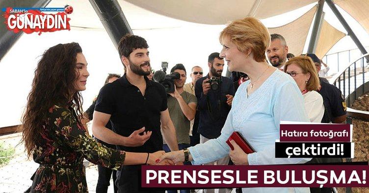 Prensesle buluşma