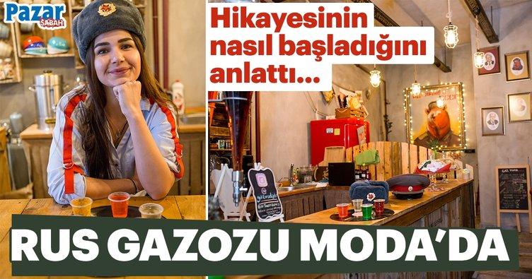 Gaz Voda Ahıska Türkü Syuzana Asparova ile ilk kez Türkiye'de