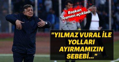 Adana Demirspor'dan Yılmaz Vural açıklaması