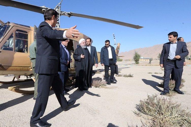 7,3'lük deprem sonrası Ruhani'den korkunç itiraf!