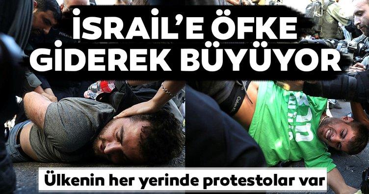 Son dakika: İsrail'e öfke giderek büyüyor
